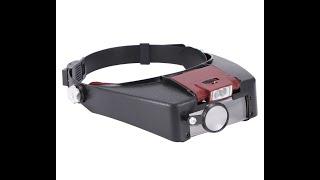 LED 확대경 헤드형 시계 보석 정밀 작업 돋보기 안경…