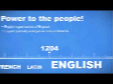 The History of English - A Timeline Overview