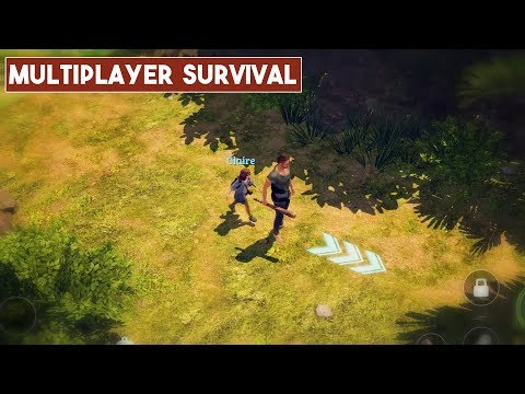 L.O.S.T Multiplayer Survival Mobile Gameplay