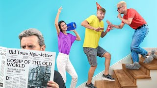 How to Sneak Friends into a Secret Home Party! / How to Become Popular