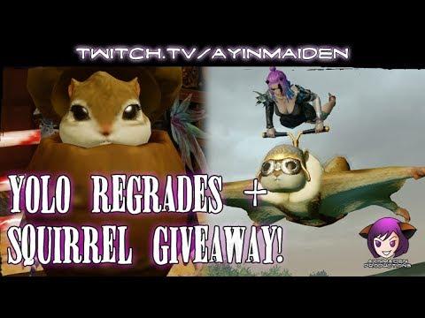 ★ ArcheAge ★ - Yolo Regrades + June Squirrel Giveaway!