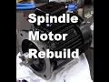Surface Grinder Spindle Motor Rebuild