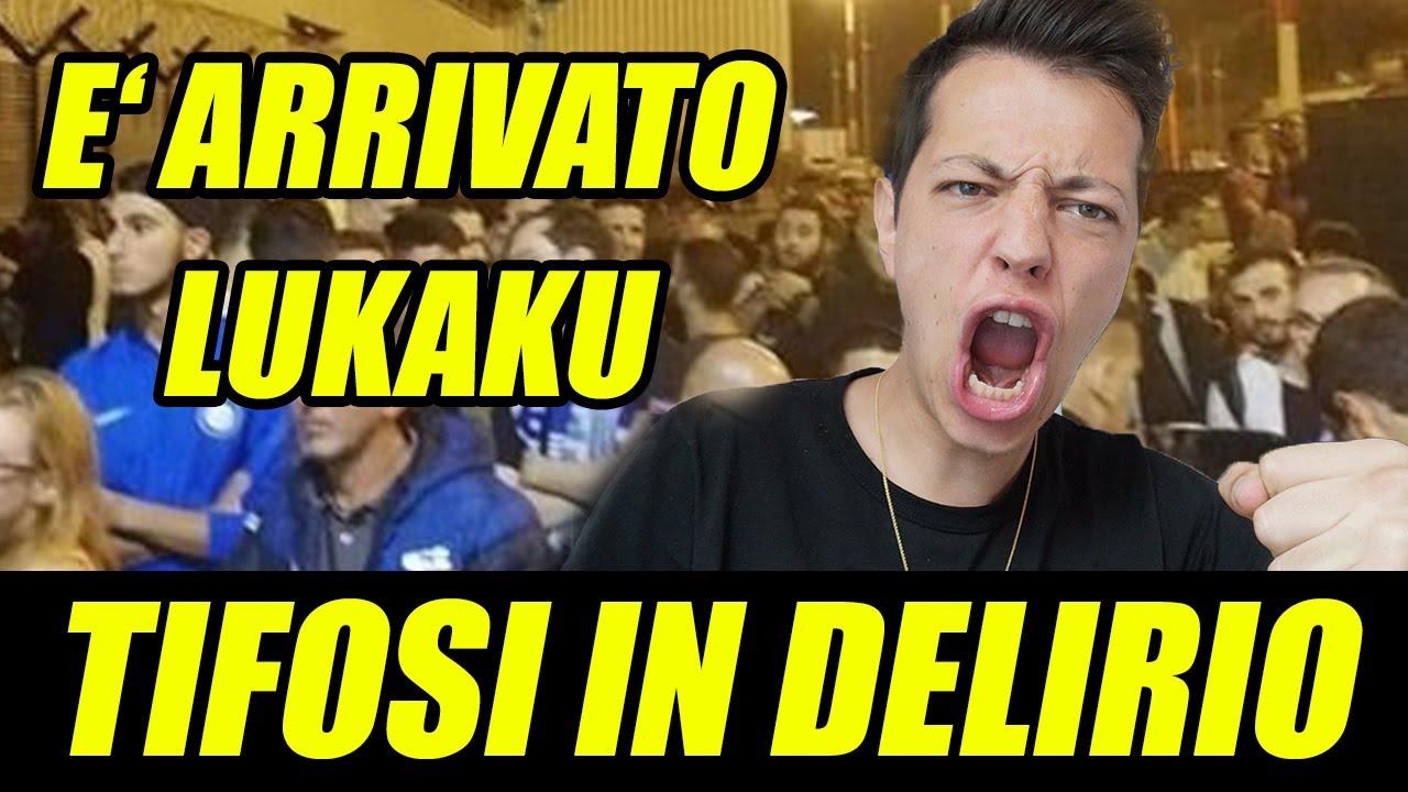 Lukaku E Atterrato A Milano Tifosi In Delirio L Inter Sta Tornando Youtube