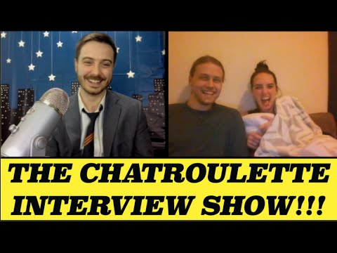 Couple Talks Choking & Foot Fetish (Chatroulette Interview show 22)