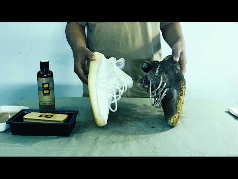 How to clean Yeezy Boost 350 V2 Cream White - TEN PLUS
