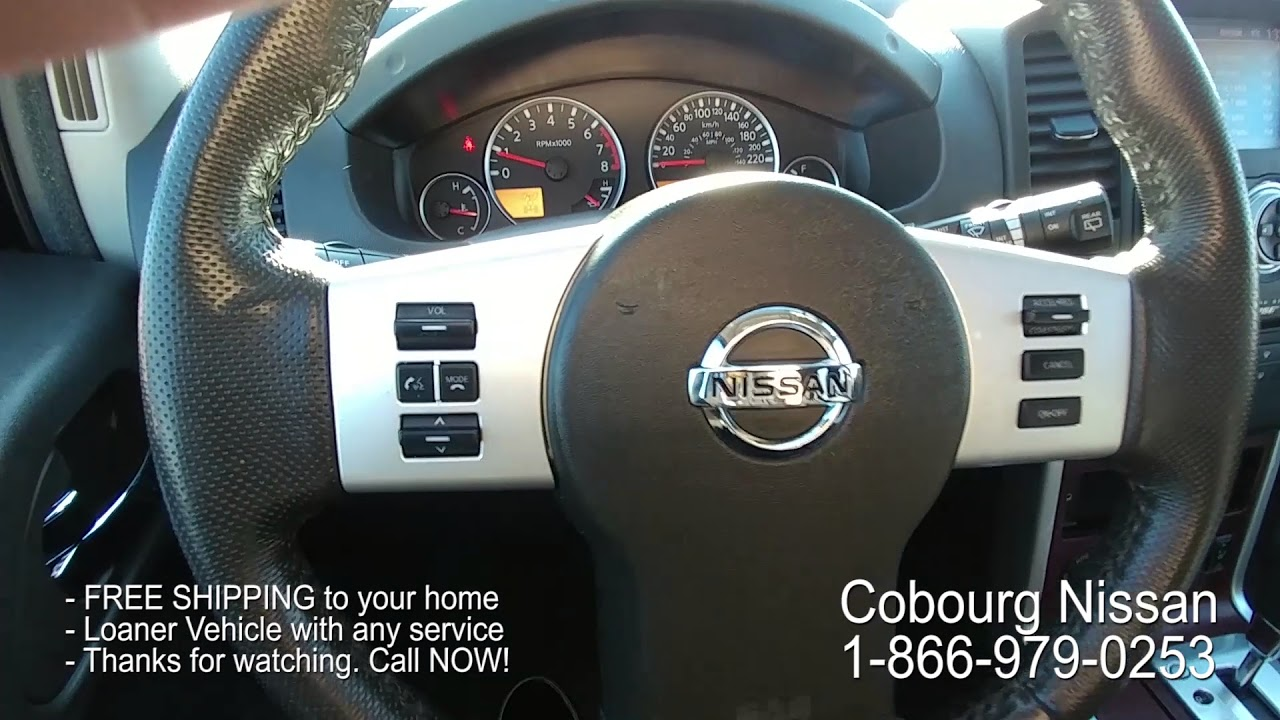 2012 Nissan Pathfinder Le Silver Edition Review At Cobourg