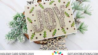 Gambar cover Got Joy Creations Holiday Card Series 2019 - Pretty Pink Posh