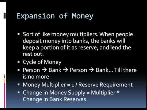 Barron's AP Economics Chapter 18: Money and Banking