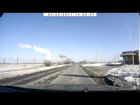 Быстрая реакция спасла водителя
