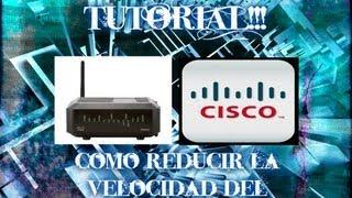 Como Limitar La Velocidad Del Wifi En El Router Cisco DPQ2425