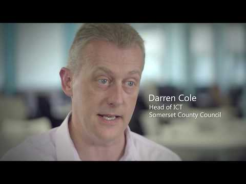 Somerset County Council Improves Productivity With Windows 10