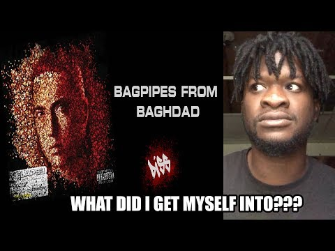 Eminem  Bagpipes from Baghdad REACTION!!!