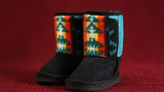 Native American Clothing: Cherokee Fashion Boots