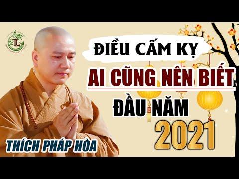 Tết 2021 Phật Tử tuyệt đối không được tin những điều này kẻo rước họa vào thân - Thầy Thích Pháp Hòa
