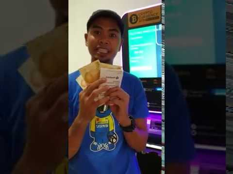 Withdrawal Cash Using BITCOIN Atm In Singapore!