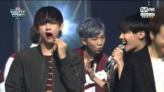 [HD] BTS - I Need U No.1 (2nd Win) + Encore @ M! Countdown