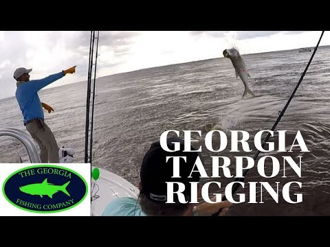 Tarpon Fishing Rig For Coastal Georgia