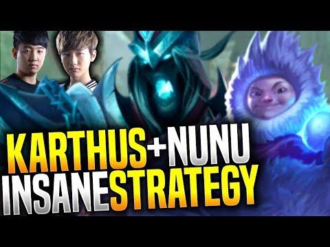 Peanut & Khan Legendary Karthus+Nunu Boosting Strategy! - How to Play Karthus+Nunu! | Be Challenger