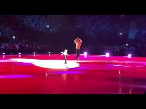 Плющенко и его показательный танец секс