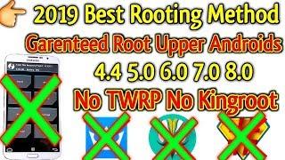 2019 Best Rooting Method   Garenteed Root Upper Androids 4.4/5.0/6.0/7.0/8.0 [ NO TWRP NO KINGROOT ]