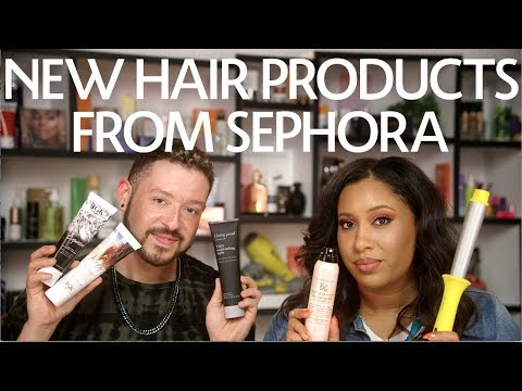 Introducing: New Hair Products From Sephora   Sephora