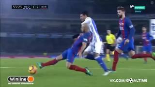 Реал Сосьедад – Барселона   Испанская Примера 2016 17   13 й тур   Обзор матча   Спорт   Mover uz 2