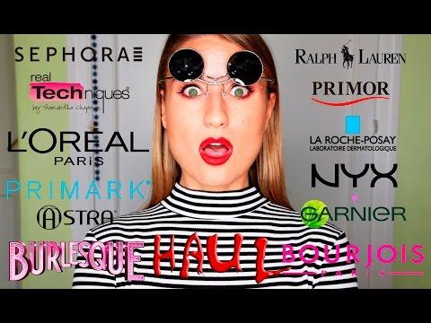 MEGA HAUL OTOÑO: Compras de maquillaje...