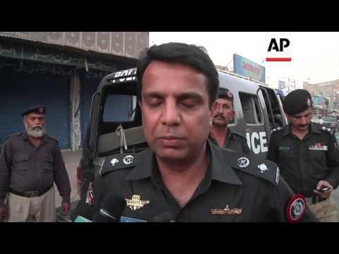 One dead, four injured in Karachi bomb blast