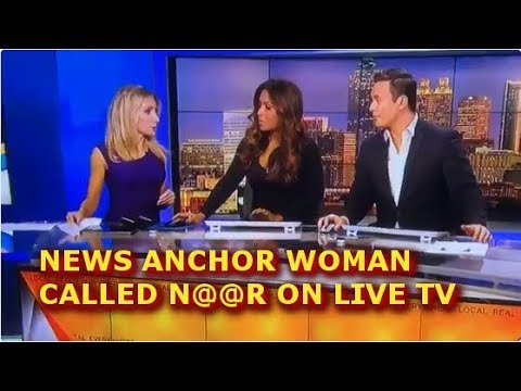 Download NEWS ANCHOR WOMAN CALLED N@@R ON LIVE TV