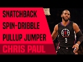 Chris Paul's Snatchback Spin-Dribble Pullup Jumper | Move of The Night #