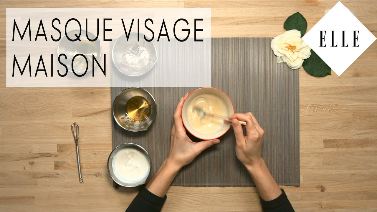 DIY : Comment faire son masque visage maison I ELLE Beauté - YouTube