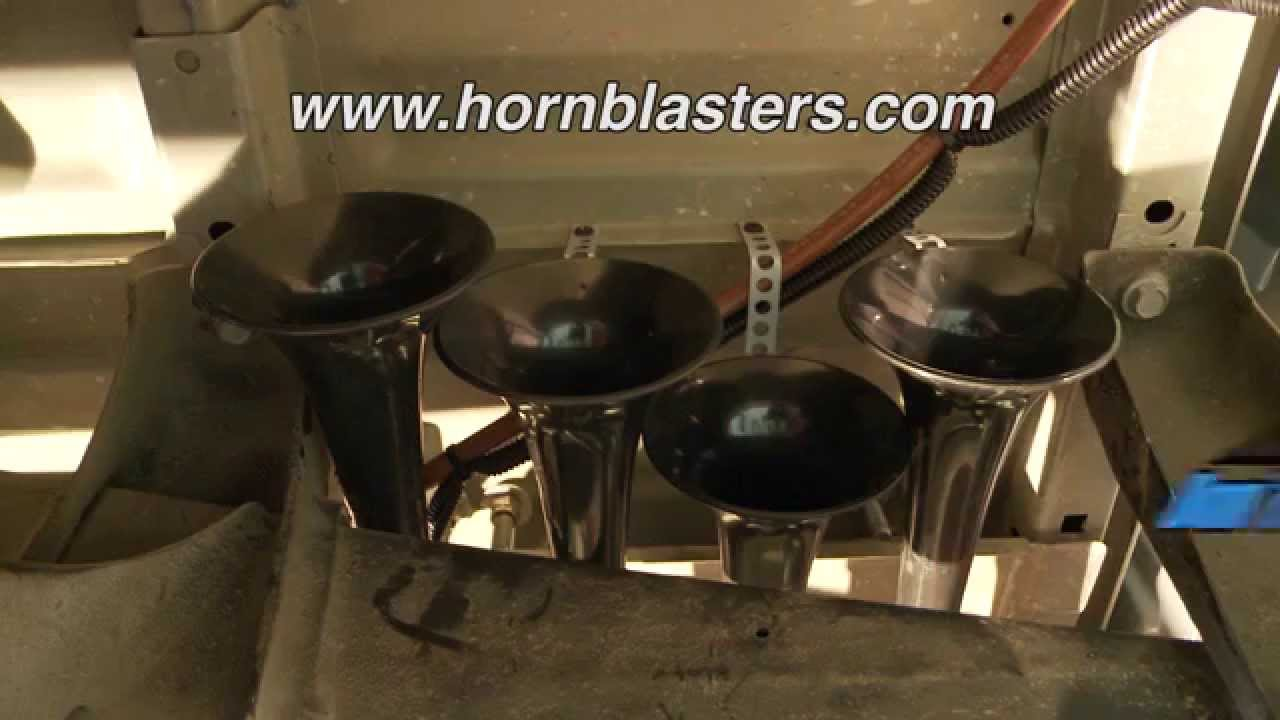 Hornblasters Conductors Special Model 240 Installation Youtube Wiring Diagram