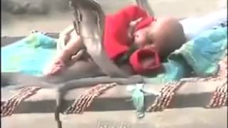 4 COBRAS protect sleeping baby