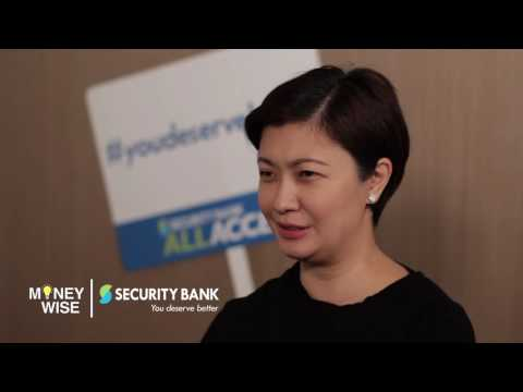 Security Bank All Access Account on MoneyWise Episode 10 Airing Date: 02/20/2016