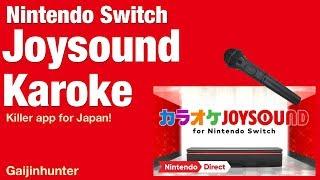 Switch: Joysound Karaoke (Japan)