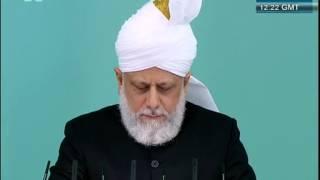 Sermon du Vendredi 03-08-2012 - Islam Ahmadiyya