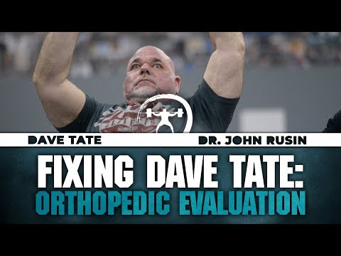 Fixing Dave Tate: Orthopedic Evaluation | elitefts.com