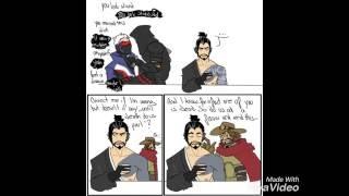 Hanzo Shut It! {Overwatch Comic Dub}