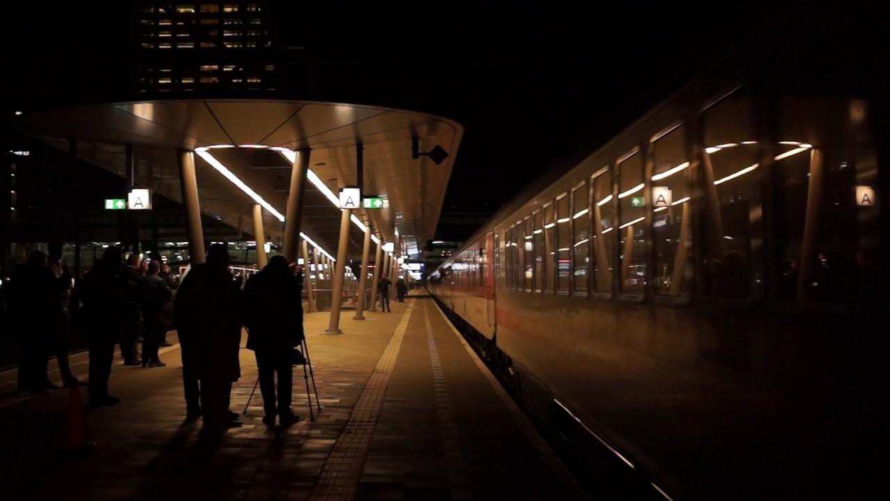 Last CNL night train from Amsterdam to Munich - YouTube
