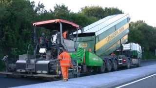 ALFAFRANK Ritje asfalt rijden bij fa. Leenaerts