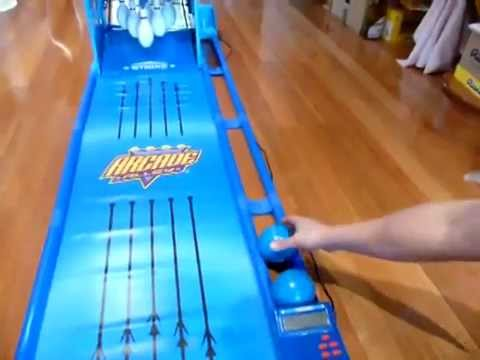 Kids Bowlercade Bowling Game Set Youtube