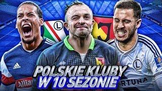 POLSKIE KLUBY w 10 SEZONIE! FIFA 20