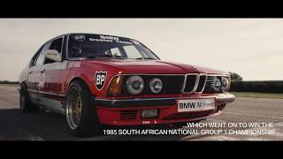 Infused with racing DNA – BMW E23 vs BMW M760Li.