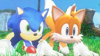Super Mario Odyssey - Sonic & Tails Walkthrough Part 1