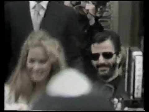 Ringo Starr And Barbara Bach S Wedding Channel 10 News 27 April 1981 Youtube