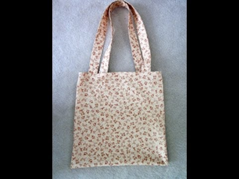 tote bag tutorial sew easy please youtube