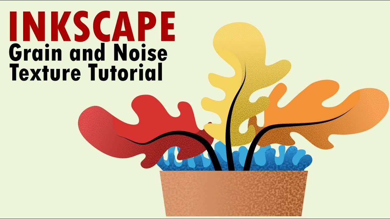 Inkscape Tutorial   Noise and Grain Texture Effect Using Inkscape