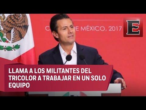 Peña Nieto conmemora los 88 años del PRI