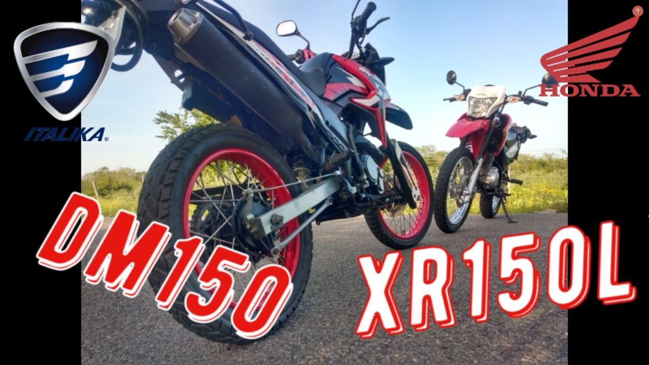 Honda Xr150 Vs Italika Dm150