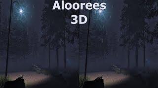 3D VR video Aloorees 3D SBS VR box google cardboard